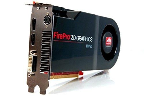 ATI FirePro V8750 Grafikkarte (PCI-e, 2GB, GDDR5 Speicher, DVI)