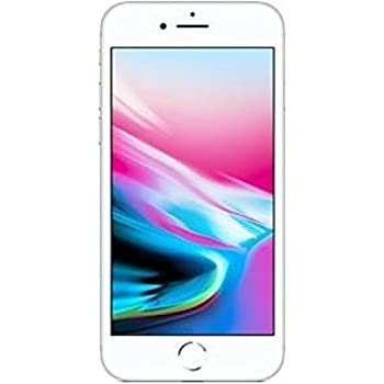 "Apple iPhone 8 Single SIM 4G 64GB Silver - Smartphones (11.9 cm (4.7""), 64 GB, 12 MP, iOS, 11, Silver)"