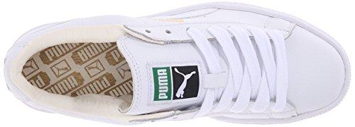 Moda Sneaker Puma carrello Classic Lfs di Wn White/white
