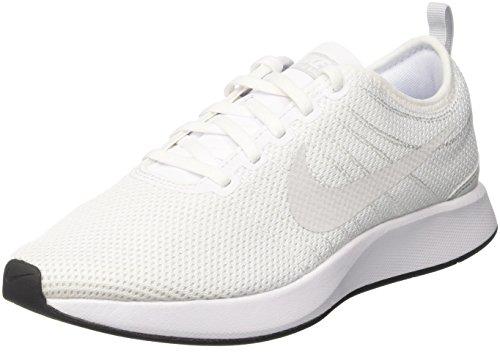 Mann Platinumwhiteblac Gym Nike Skoene Dualtone Racer Hvite 102 0aHqxgR