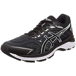 Asics Gt-2000 7, Zapatillas de Running para Hombre, Negro (Black/White 001), 43.5 EU