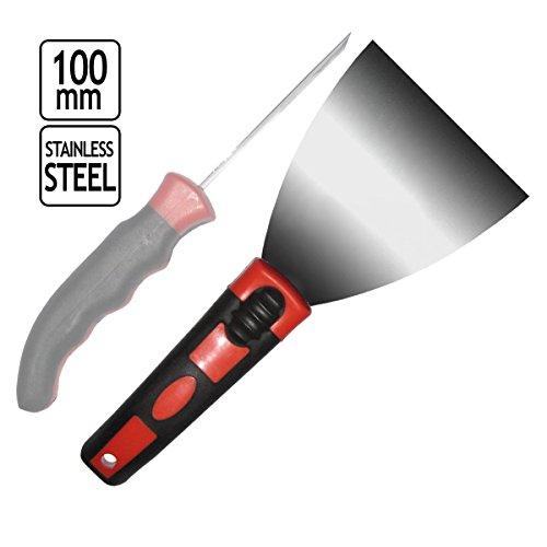 Malerspachtel Spachtel Stossspachtel Rostfrei 100 mm Edelstahl Federnstahl