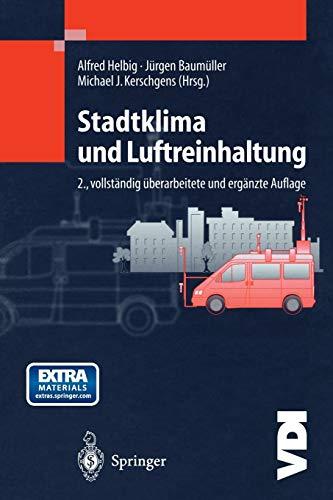 Stadtklima und Luftreinhaltung (VDI-Buch)