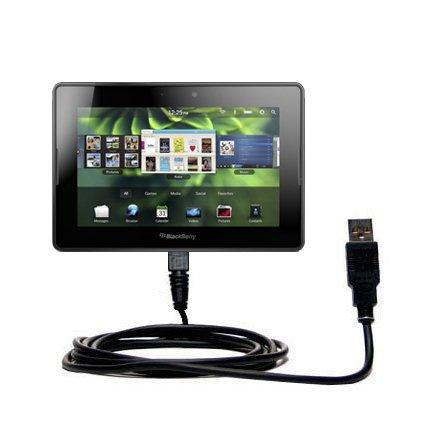 2 Oem Blackberry (Klassisches Direkt-USB-Kabel für Blackberry Playbook Tablet mit Power Hot-Sync und Ladekapazitäten Verwendet die TipExchange Technologie)