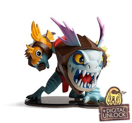 Dota-2-Demihero-Slark-Mini-Hero-Figur-Valve-In-Gamne-Unlock-Key
