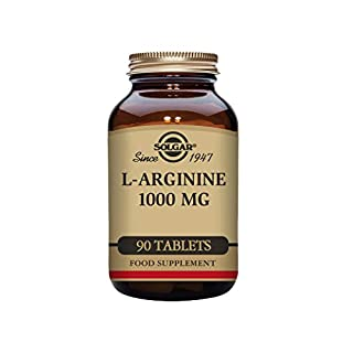 Solgar L-Arginine 1000mg Tablets - Pack of 90