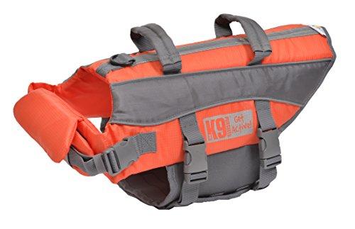 Gilet de Sauvetage K9Pursuits, hautement Visible et Facile à agripper