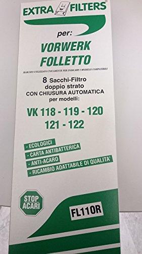 SACCHETTI FOLLETTO VK120/121/122 ADATTABILE
