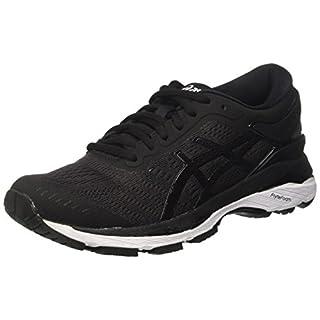 Asics Women's Gel-Kayano 24 Running Shoes, Black (Black/Phantom/White), 5.5 UK