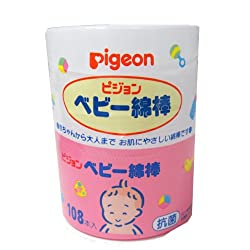 New Pigeon Cotton Buds 108 Pieces