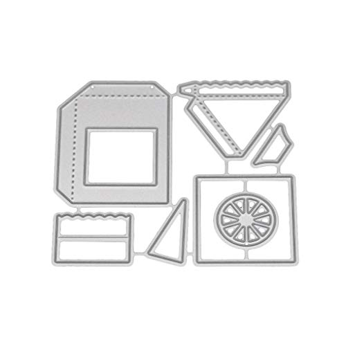 3D Car Pattern Carbon Steel Schneideisen Stencil Prägen Crafts Vorlage Geschenk DIY Supplies fgyhtyjuu