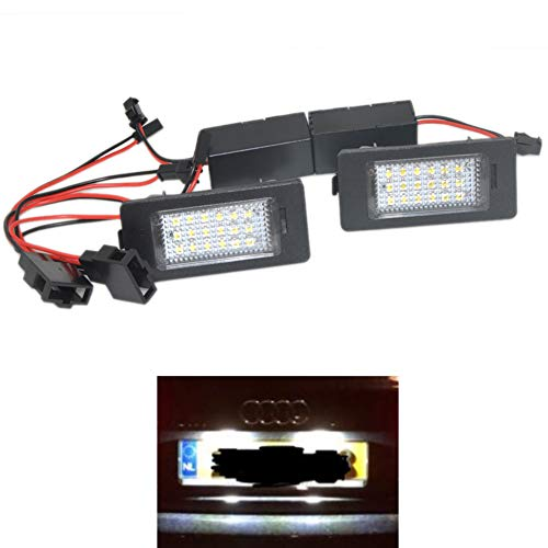 Hunpta Kit universel de feux de jour DRL LED /à haute puissance 9 et feux anti-brouillard pour Audi