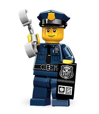 LEGO-71000-Minifigures-Policeman-from-Series-9