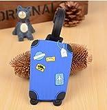 Vuoi trovare il proprio bagaglio a prima vista di bagagli simili? Questo è l' unico per voi. Colore brillante così il vostro bagaglio è facile da riconoscere.Materiale: plastica robusta e flessibileDa appendere Dimensioni: circa 6.5x 10.5c...
