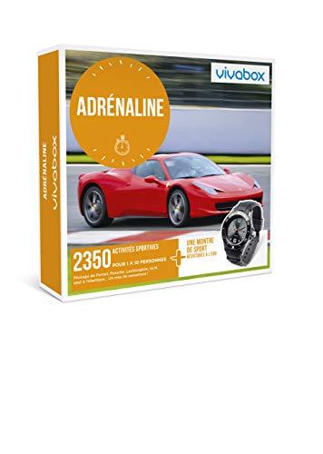 Vivabox - Coffret cadeau sensation - ADRENALINE - 2350 activités sportives + 1...
