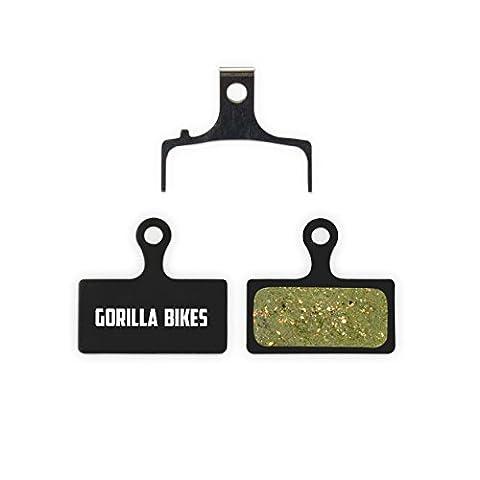 Shimano Bremsbeläge G01S XTR BR-M9000 M987 M985 XT M8000 M785 SLX M675 M666 Deore M615 für MTB Scheibenbremse Sintered Beläge Bike Bremse Bremsbelag | Gorilla Bikes High Performance Disc Brake (Shimano Vorne Disc Adapter)
