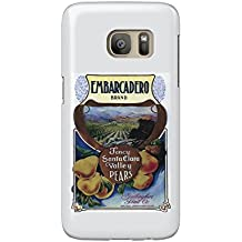 San Jose, California - Embarcadero Pear Poster (Galaxy S7 Cell Phone Case, Slim Barely There)