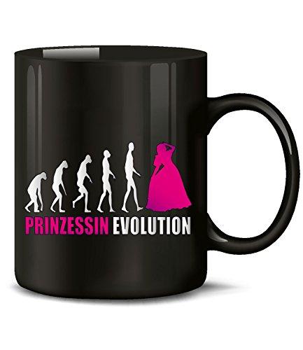 PRINZESSIN EVOLUTION 644(Schwarz-Pink) (Schwarz Zahnfee Kostüm)