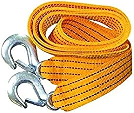 Motoway Car Auto Towing Tow Cable Rope Heavy Duty 3 Ton 2.65Mtr
