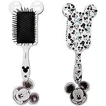 Disney Mickey & Minnie Cepillo para el Pelo Pala en Forma Blanco con Orejas