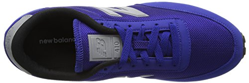 New Balance U410v1, Baskets Basses Homme Bleu (Blue/White)