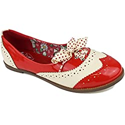 En venta a la venta Precio más barato de la venta barata Zapatos rockabilly para mujer Barato Best Venta lL8AY