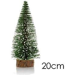 Cicadi Mini Cedar Tree Weihnachtsdekoration Desktop-Fenster Künstliche Weihnachtsbäume