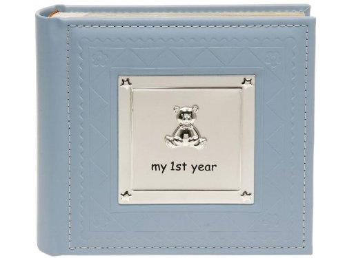 "Shudehill giftware album per foto""my first year"" – album per foto da maschietto - colore: blu - 77802"