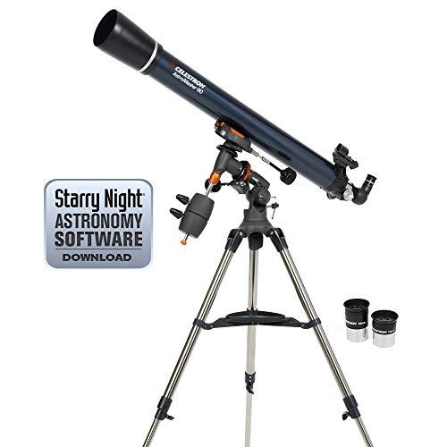 Celestron Astro Master 90eq, Sky L1, 12250 g, 90 mm (importado de Inglaterra)