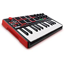 AKAI Professional MPK MINI MKII - Teclado Controlador MIDI USB portátil con 25 t