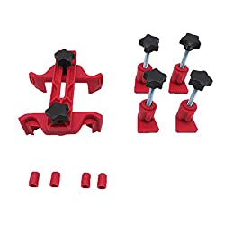 Shiwaki 9 Stücke Auto Dual Cam Nockenwellenhalter Master Motor Zahnradsteuerung Kettenrad Werkzeuge
