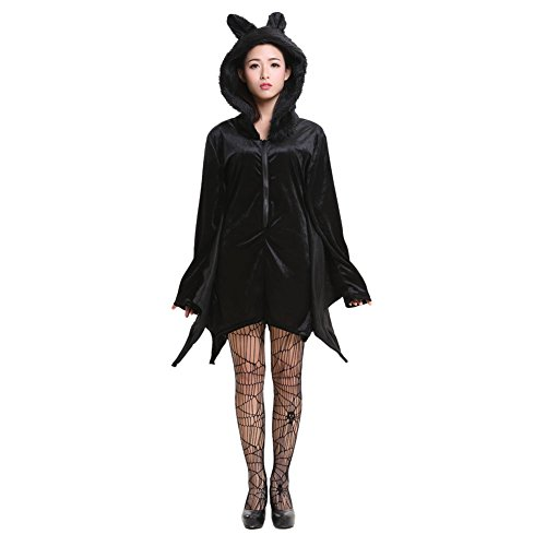 Halloween Vampirflügel Umhang Vampir Kostüm Fledermaus Flüge Cosplay Damen XL