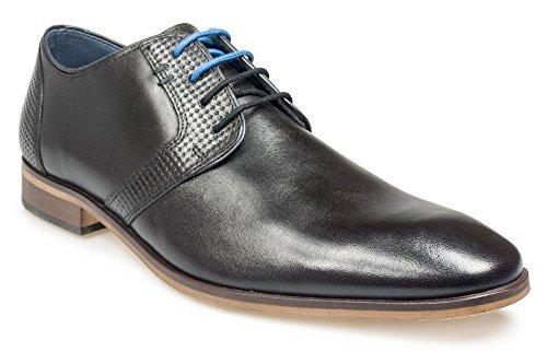 Paul O'Donnell Herren Schnürer Formelle Schuhe - TAMPA schwarz Größen UK6 to UK15 - Schwarz, 15 UK / 50 EU / 16 US