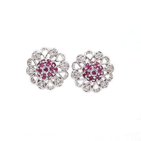LOVE STUDIO,Ear Nails 18K plaqué or Fashion Elegant Jewelry Studs Earrings Sets Boucles d'oreilles pour femme