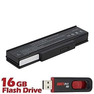 Battpit Batterie d'ordinateur Portable de Remplacement pour Asus F3T-AP037C (4400mah / 49wh) Avec Clé USB 16 Go GRATUIT