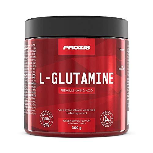 Prozis L-Glutamin 300g Grüner Apfel