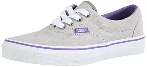 Vans ERA, Unisex-Kinder Sneakers, Grau (Suede) vapor blue/dahlia purple), 35 EU (Suede Shoes Kinder-blue)