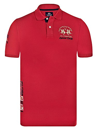 la-martina-uomo-polo-t-shirt-slim-fit-taglia-s-red