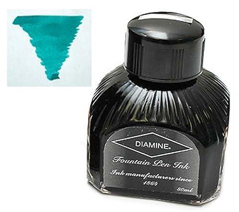 Diamine 80ml Soft Mint fountain pen ink