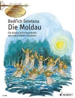 DIE MOLDAU (MEIN VATERLAND) - arrangiert für Klavier [Noten / Sheetmusic] Komponist: SMETANA BEDRICH aus der Reihe: KLASSISCHE MEISTERWERKE ZUM KENNENLERNEN