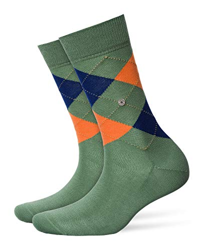 Burlington Damen Covent Garden Socken, Mehrfarbig (Khaki Green 7746), 36/41