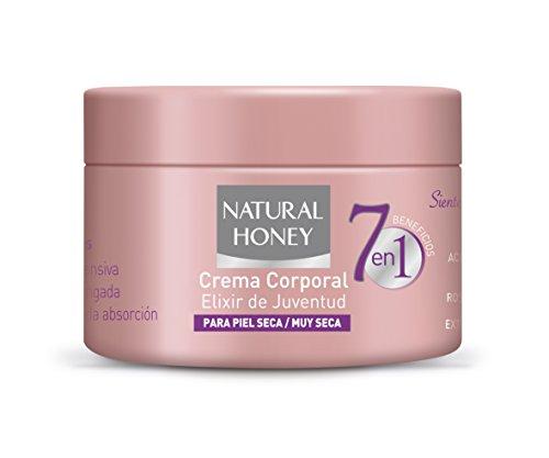 Natural Hpney 7en1 Beneficios - Crema corporal, 250 ml