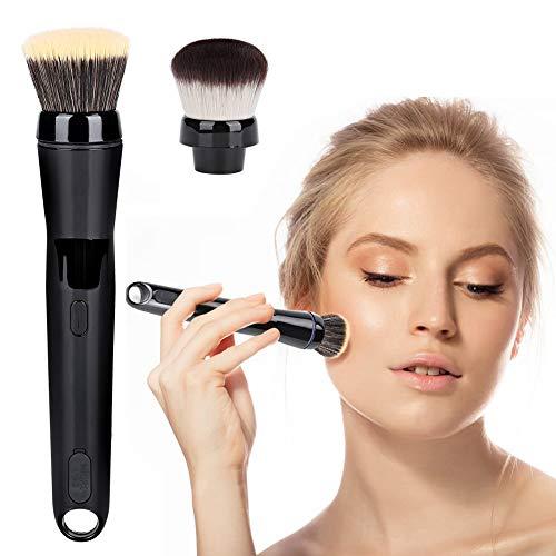 Qiterr Elektrische, automatisch rotierende Make-up-Bürste mit Foundation-