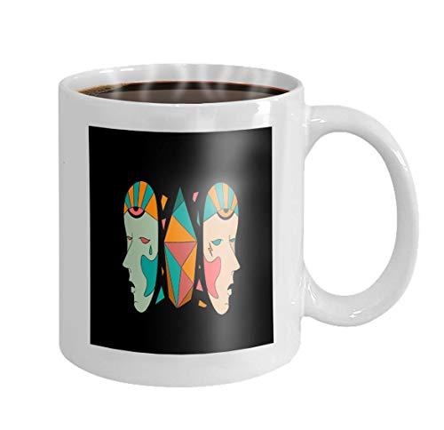 11 oz Coffee Mug halloween Hipster Character (Halloween-zitate Witze Lustige)