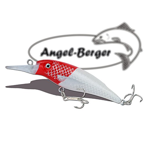 Deep Shad 3D Wobbler Red Head Angel Berger Hardbait
