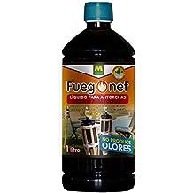 FUEGO NET Fuegonet 231203 Liquido para antorchas Negro 7.2x27x7.2 cm