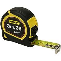 Stanley STA030656N Pocket Tylon Tape, 8 m/26 feet (25 mm) - Multi-Colour
