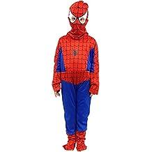 ropa nueva máscara de carnaval de Halloween juego cosplay del héroe personaje al bebé del bebé Spiderman película del superhéroe Spider-Man tg 120 l -130 cm