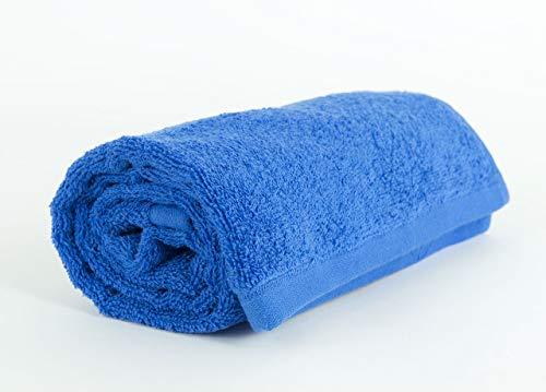 Serviettes et lingettes Sophie Bleu marine en coton Telo bleu marine