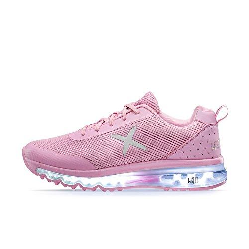 wize & opeXRUN - Scarpe da Ginnastica Basse Unisex - Adulto , Rosa (Pink (Pink 7)), 39